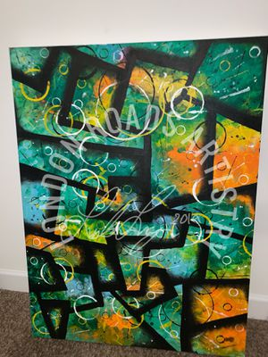 @LONDONRDS Original Acrylic Abstract Painting 30x40 for Sale in Forest Heights, MD