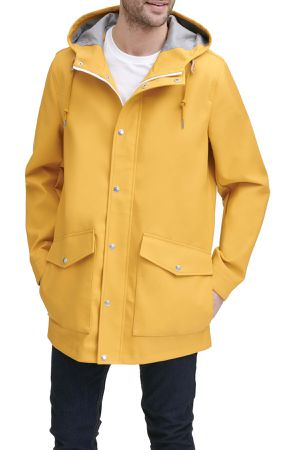 NWT Levi's Men's Yellow Rainy Days Hooded Jacket Raincoat XXL $180 for Sale in Annandale, VA