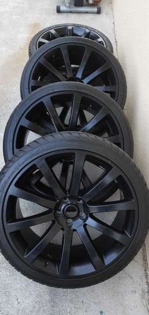 """22"""" wheel and tire for Sale in Westminster, CA"""