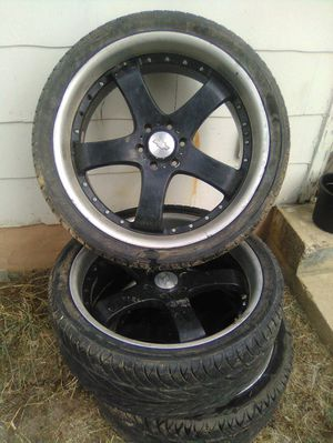 "24"" Black Rim for Sale in District Heights, MD"