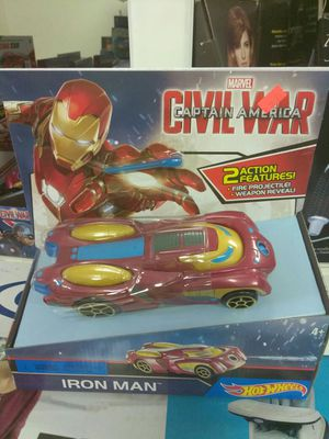 CAPTAIN AMERICA IRON MAN CAR for Sale in Carrollton, TX