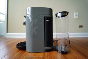 Nespresso - VertuoPlus Coffee Maker and Espresso Machine by DeLonghi - Gray for Sale in Arlington, VA