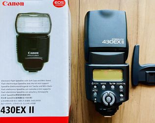 Canon 430EX II speedlight for Sale in Foster City,  CA