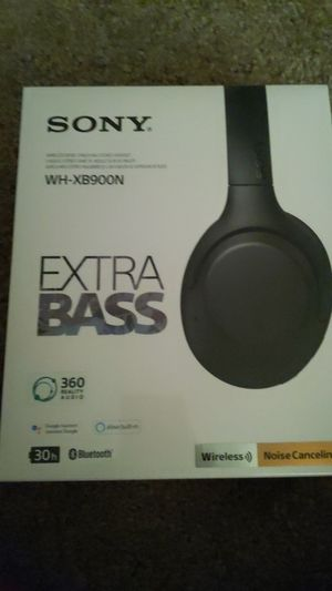 Sony wh-xb900n headphones for Sale in Orlando, FL