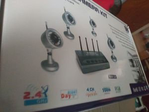 Wireless camara kit color for Sale in Lynn, MA