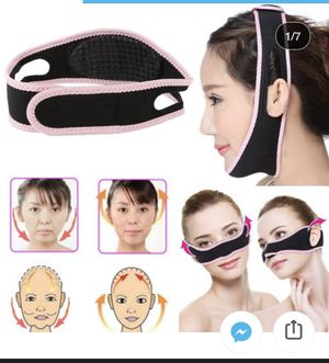Women face lift up belt sleeping mask massage slimming face shaped anti-aging for Sale in El Paso, TX