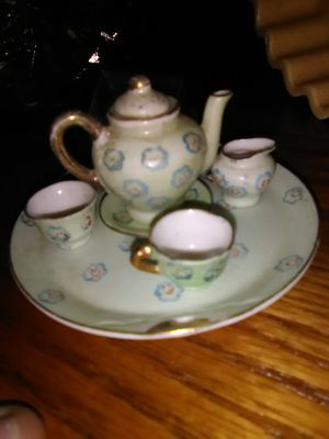 Antique mini China set. for Sale in Portland, OR