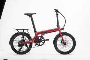 20mph Long Range Compact Folding eBike Lightweight Foldable Electric Bicycle Lithium Battery for Sale in South Gate, CA