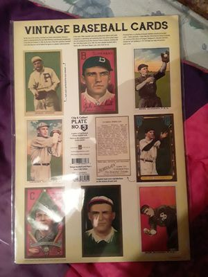 Baseball cards plate 3 for Sale in Lafayette, CO