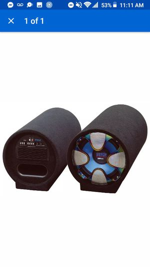 PYLE tube subwoofer for Sale in Circleville, OH