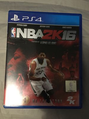 Ps4 nba2k16 for Sale in Pasco, WA