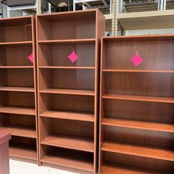 High Quality! Used Cherry Bookcases / Bookshelves for Sale in Portland,  OR
