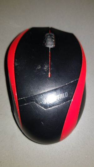 iBUFFALO wireless mouse (2.4GHz) BlueLED mouse 3Button Type bsmbw08 for Sale in Long Beach, CA