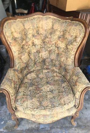 Antique wing back chairs set for Sale in Boynton Beach, FL