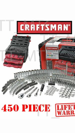 CRAFTSMAN TOOLS SET 450 PCS NEW for Sale in Paramount, CA