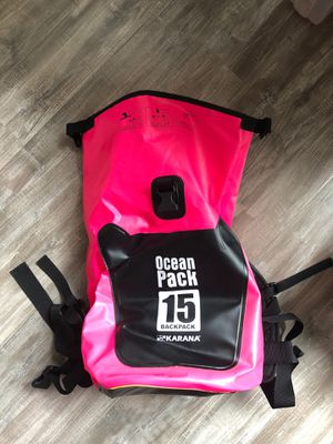 Dry Bag 15 Backpack - Hot Pink Waterproof Dry Bag Ocean Pack for Sale in Seattle, WA
