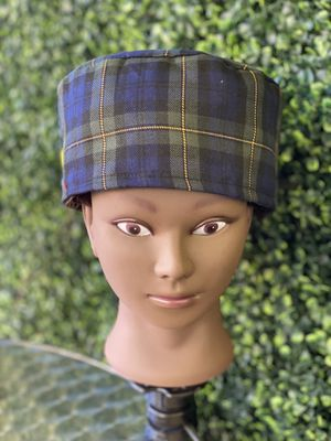 Plaid surgical cap for Sale in Pico Rivera, CA