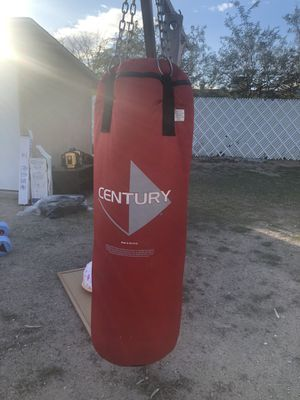 Century punching bag for Sale in North Las Vegas, NV