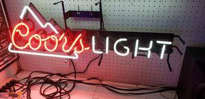 Neon light coors light for Sale in Torrance, CA