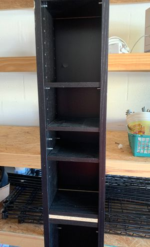 Cd/dvd storage rack. See slight damage in picture. for Sale in Spring Hill, FL