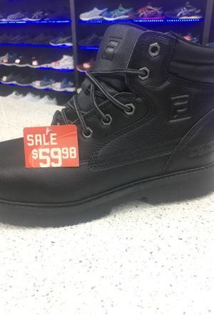 Fila working boot steel toe 60.00 for Sale in Miami, FL