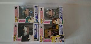 Sailor moon, Tuxedo Mask and 2 Sailor Scouts! for Sale in Arlington, TX