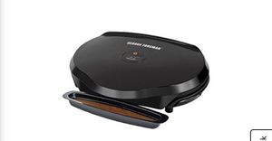 NEW: George Foreman 3 Serving Black Electric Grill for Sale in Tamarac, FL