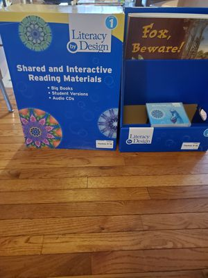 Literacy by Design Shared and Interactive Reading Materials grade 1 for Sale in Greer, SC