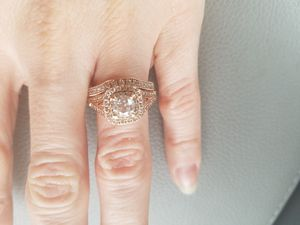 Rose gold engagement and wedding rings for Sale in Manassas, VA