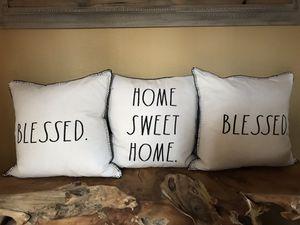 Rae Dunn Pillows for Sale in Astatula, FL