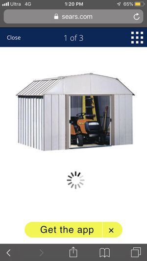 8'x10' storage shed by arrow for Sale in Anaheim, CA