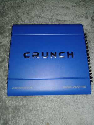 BRAND NEW NEVER USED 1000WATT 4.CH AMP for Sale in Los Angeles, CA