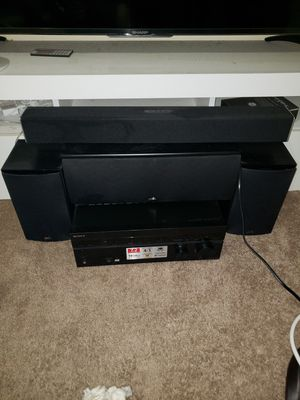 Home theater speakers set up for Sale in Gardena, CA