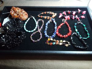 Semi precious Stone bracelets lot for Sale in Northumberland, PA