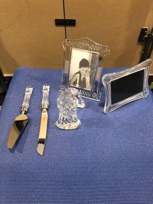 Waterford Crystal Wedding Set for Sale in Wood Village, OR