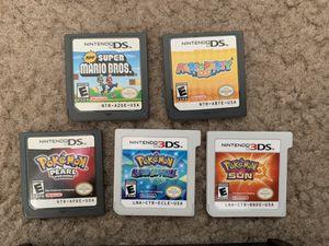 Pokémon Nintendo 3DS game bundle! for Sale in Lake Elsinore, CA