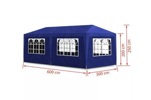 New in Box 10' by 20' canopy, carpa, tent, awning , shade , white or blue; easy to assemble for Sale in Glendale, AZ