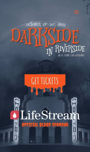 Two VIP tickets to Darkside Riverside for Sale in Rialto, CA