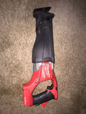 Milwaukee fuel one key m18 sawzall for Sale in Rockville, MD