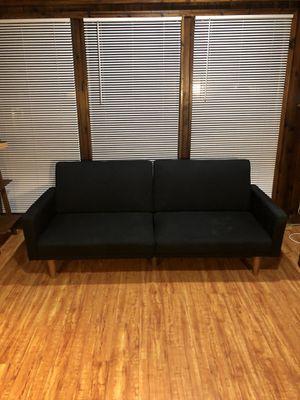 Convertible Sofa - Black for Sale in El Segundo, CA