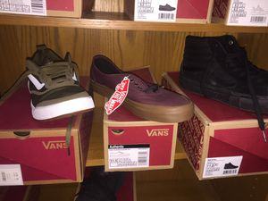 Vans tennis shoes for Sale in South Houston, TX