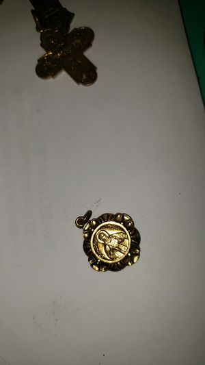 Vintage st jude Thaddeus holy metal pendant for Sale in Carterville, MO