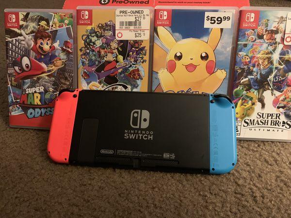 Nintendo Switch & Games