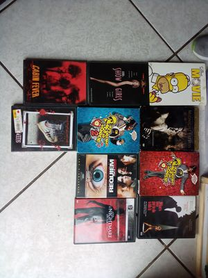 Movies. $1 each for Sale in Fontana, CA