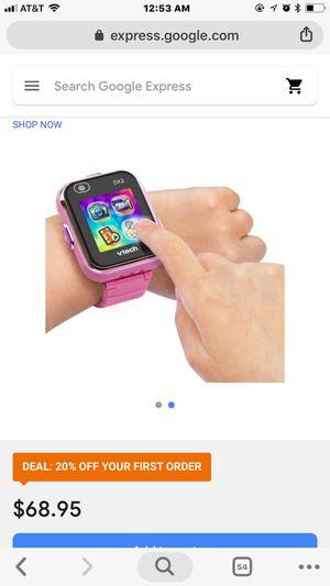 Smart watch kids Vtech smartwatch for Sale in Las Vegas, NV