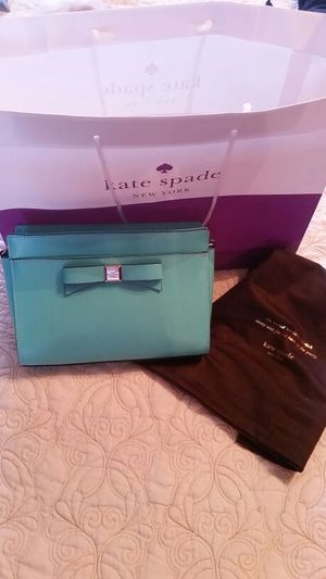 Bnwot Kate Spade teal blue angelica purse for Sale in Bloomingdale, IL