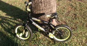 "Boys 14"" Freestyle BMX Dirt Thrusher 1400 bike! for Sale in Savannah, GA"