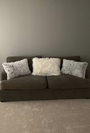 Gray/ Brown sofa bed for Sale in Raleigh, NC