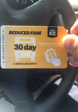30 day reduce fare pass for Sale in Las Vegas, NV