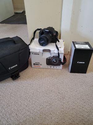 Canon EOS Rebel T7 camera for Sale in Virginia Beach, VA